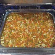 súp hải sản chua cay