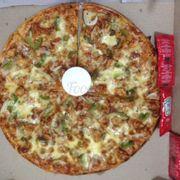 Pizza gà hơi cay