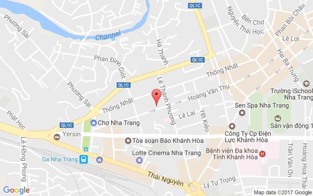 Vị trí bản đồ 116 Hoàng Văn Thụ Tp. Nha Trang Khánh Hoà