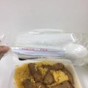 Cơm chả cá chiên