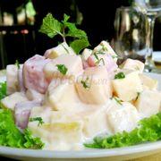 Salad hoa quả kiểu Nga