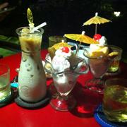Sữa cacao và kem