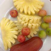 Tráng miệng trái cây tươi