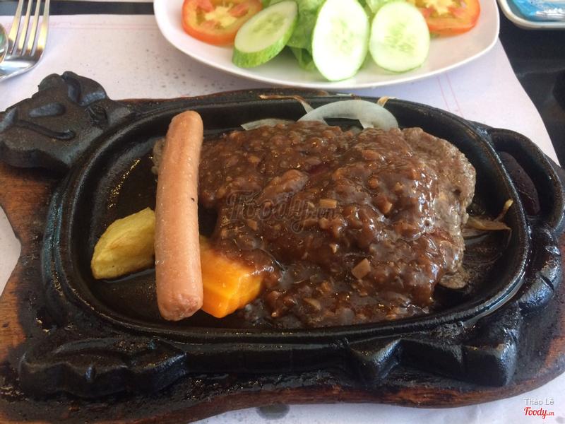 beefsteak bò xúc xích 75k