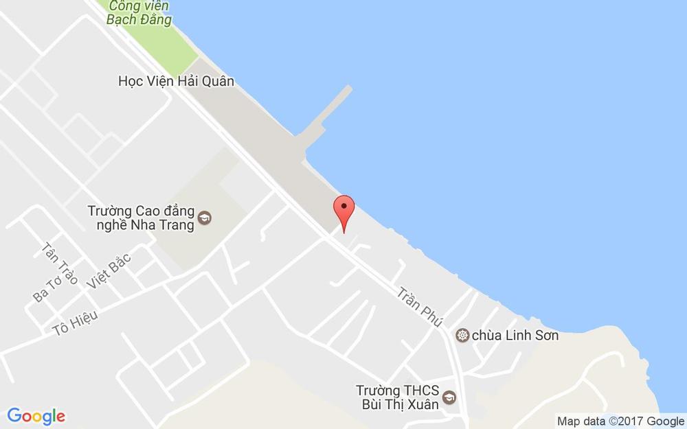 Vị trí bản đồ Lô 29 Trần Phú Tp. Nha Trang Khánh Hoà