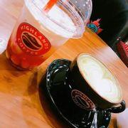 Trà sen vàng & Matcha Latte