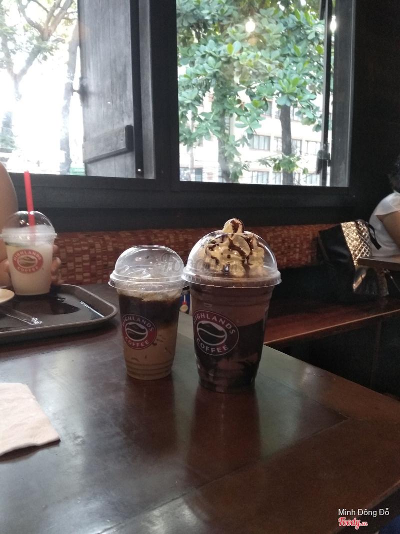 Choco freeze và cafe