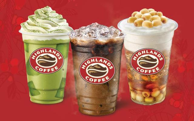 Highlands Coffee - Saigon Trade