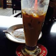 Bánh Tiramisu, cà phê sữa