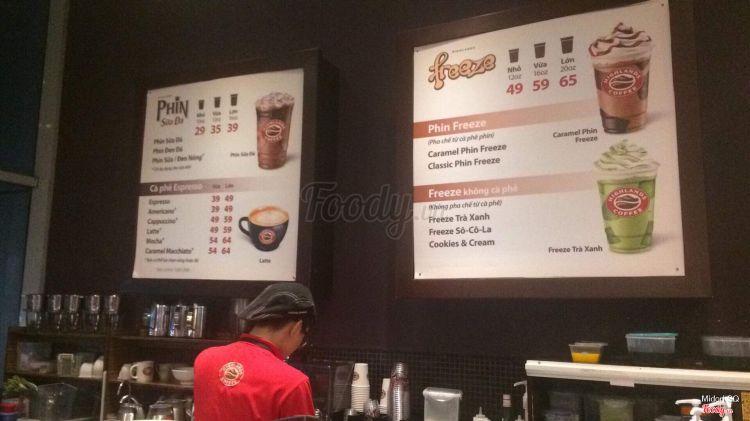 Highlands Coffee - Parkson CT Plaza ở TP. HCM