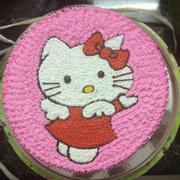 Bánh kem Kitty đặt