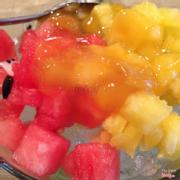 Đá bào trái cây