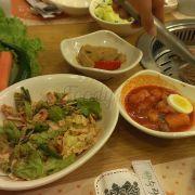 Các món dùng thêm ở Dae Jang Geum miễn phí, thích gọi bao nhiêu thì gọi