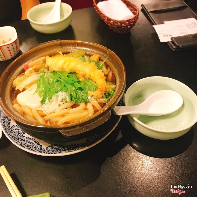 Mì udon (nước tương)