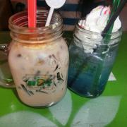 Trà sữa và soda
