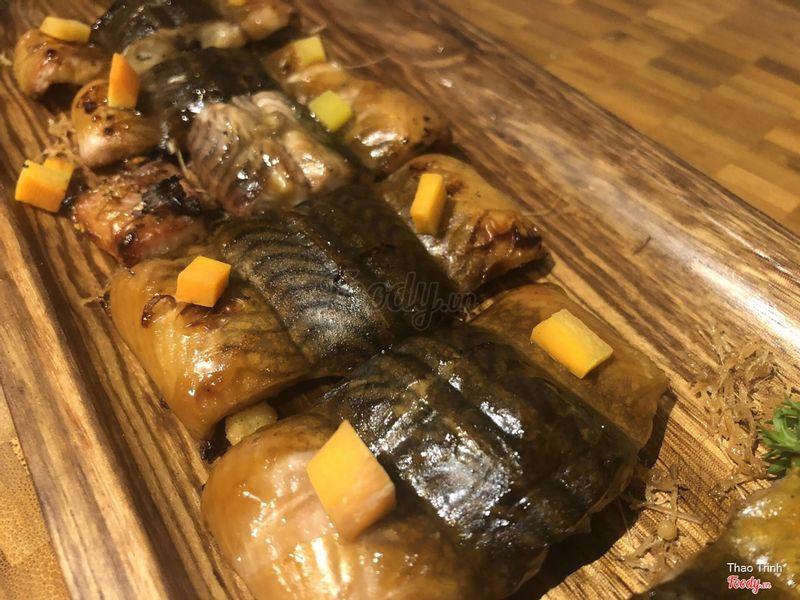 Lươn nướng kiểu Nhật