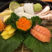 sashi mi cá hồi - bạch tuộc - mực - cá trích