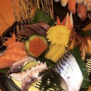 Set sashimi tổng hợp
