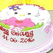 Bánh kem Hello Kitty D
