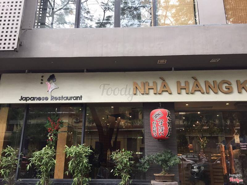 Nhà hàng Kimono, mà thấy toàn khách Việt. Chỗ nào có người Nhật thì chắc an toàn hơn