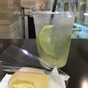 Mochi cam & Nước chanh vàng bạc hà