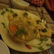Cơm cháy ăn với súp