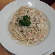 Mỳ Ý hải sản sốt kem