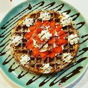 bánh waffle
