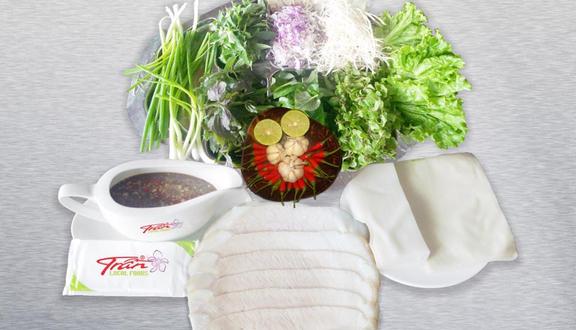 Bánh Tráng Thịt Heo Trần - Hải Phòng