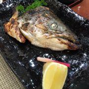 đầu cá hamachi nướng