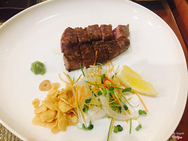 Wagyu beef A5 grade 100 gr - giá 1.5 triệu