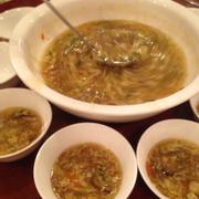 Súp cua nấm