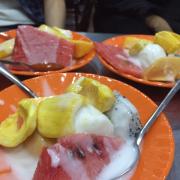 Kem hoa quả thanh thảo
