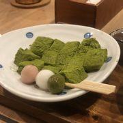 bánh dày trà xanh