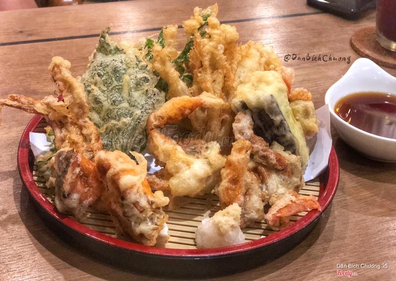Cua lột tempura 🦀