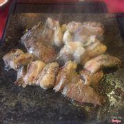 Thịt cừu nướng tảng cũng khá ngon miệng, thịt cừu không bị hôi, chế biển và xử lí thịt rất tốt nên mới được như vậy (y)