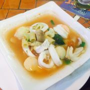 Seafood soup Italian style