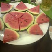 Trái cây (nói là món tráng miệng trái cây chớ chỉ toàn dưa hấu _)