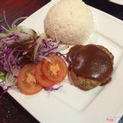 Hamtek + rice...ngon cực