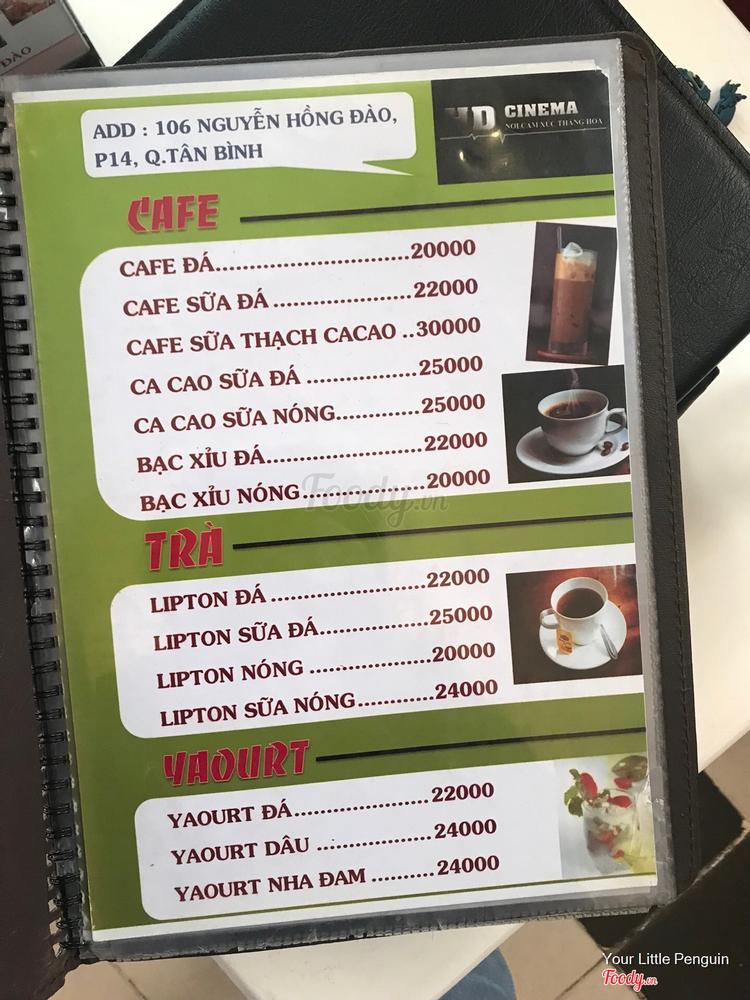Cafe HD - Cafe Xem phim HD ở TP. HCM