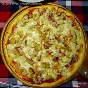 pizza cỡ lớn