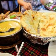 Fish masala và butter nan