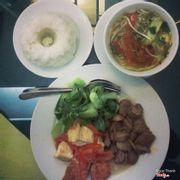 Cơm, đồ ăn và canh