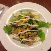 Salad ăn ngon. Hình như là salad bò thì phải