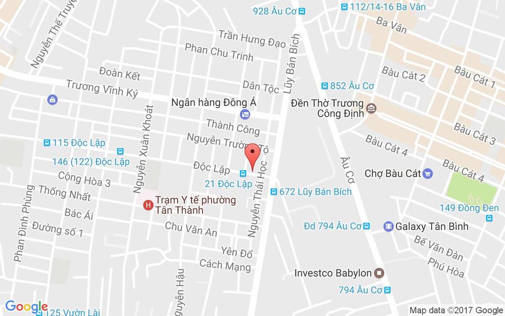 Vị trí bản đồ Karaoke Zing - Tận Hưởng Dàn Âm Thanh Hiện Đại ở TP. HCM