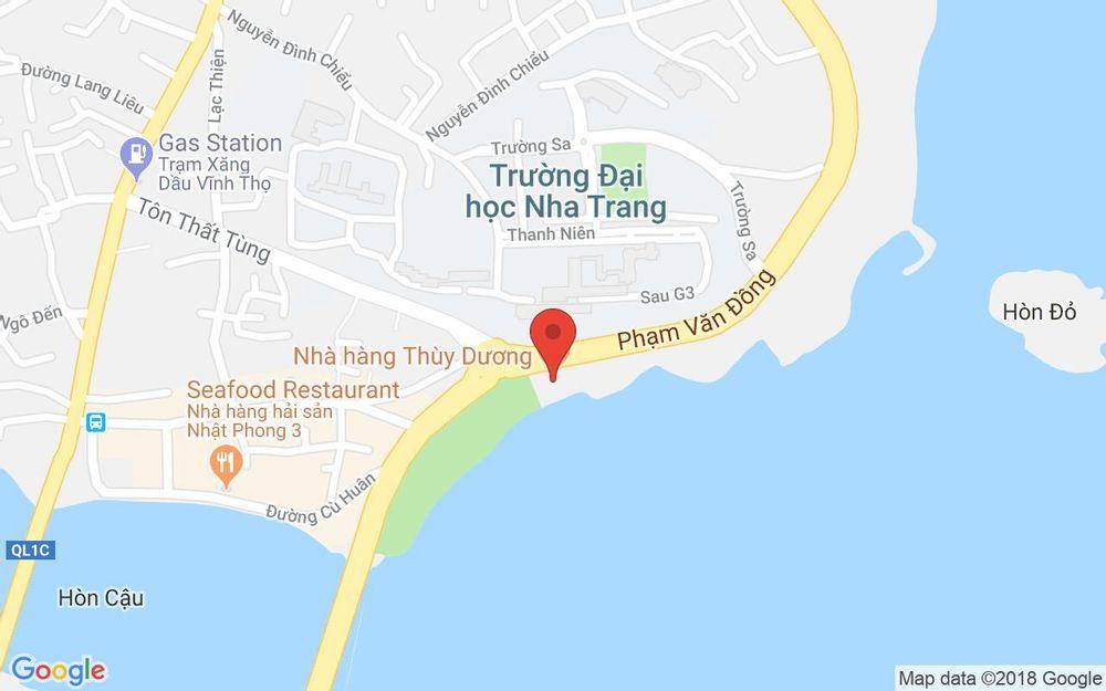 Vị trí bản đồ Đại Lộ Phạm Văn Đồng, P. Vĩnh Thọ Tp. Nha Trang Khánh Hoà