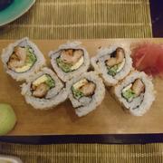 Miso Katsu cheese maki