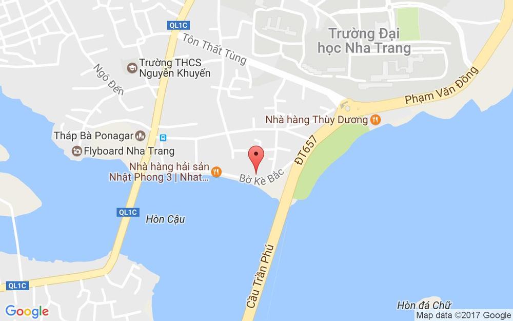Vị trí bản đồ 26 Cù Lao Trung, P. Vĩnh Thọ Tp. Nha Trang Khánh Hoà