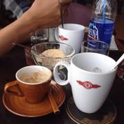 Cafe đen đá và espresso