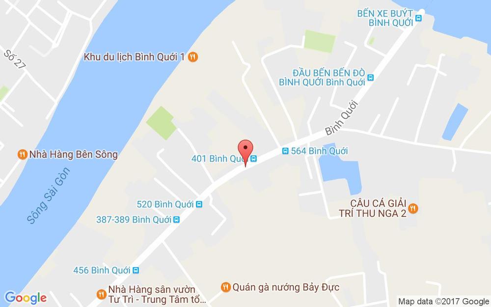 Vị trí bản đồ 1147 Bình Qưới, P. 28 Quận Bình Thạnh TP. HCM